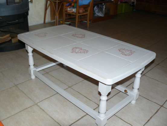 Beliebt Relooker Une Table Basse Carrelée - Inspiration du blog IP83