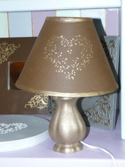 custom foly s archive du blog une lampe de chevet pour la chambre de ma fille. Black Bedroom Furniture Sets. Home Design Ideas